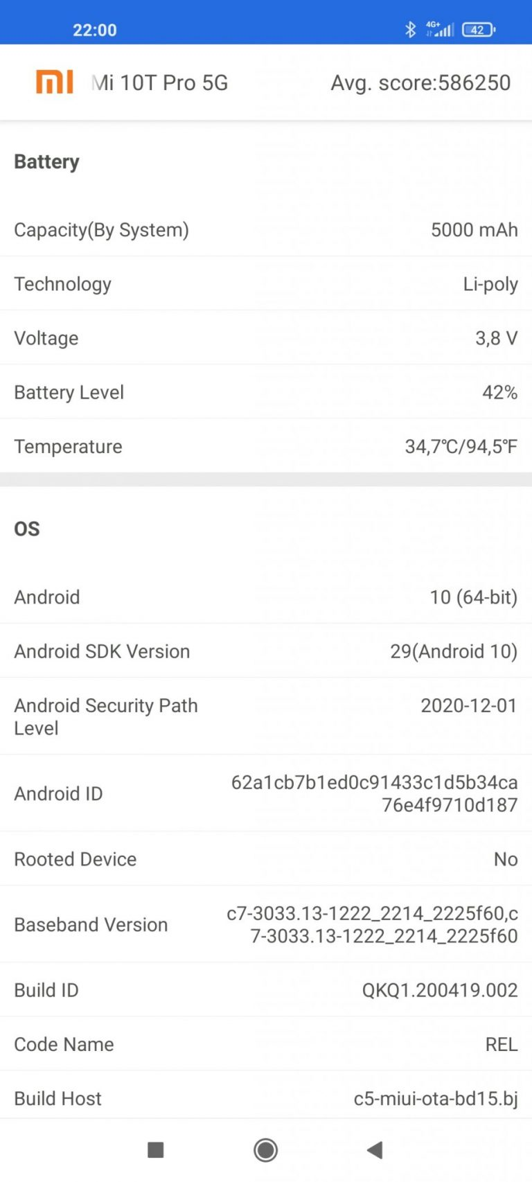 Xiaomi Mi 10T okostelefon teszt 35