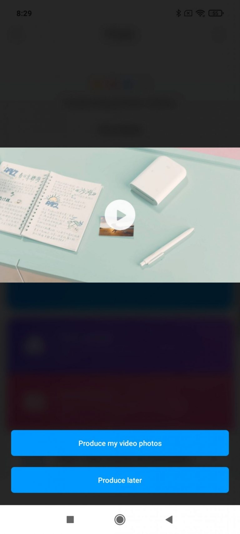 Xiaomi Zink hordozható fotónyomtató 22