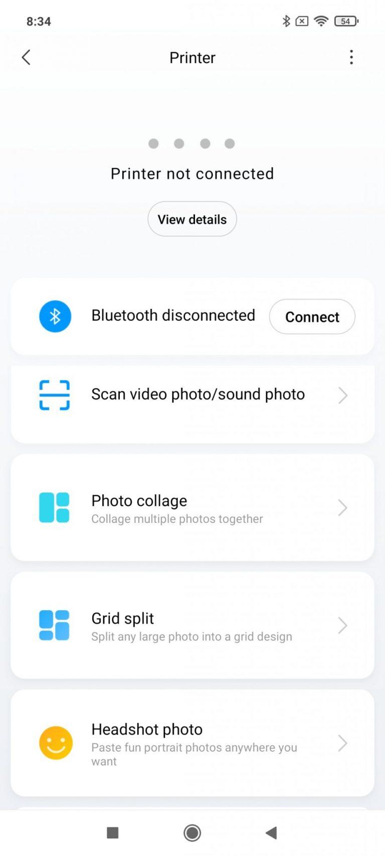 Xiaomi Zink hordozható fotónyomtató 14