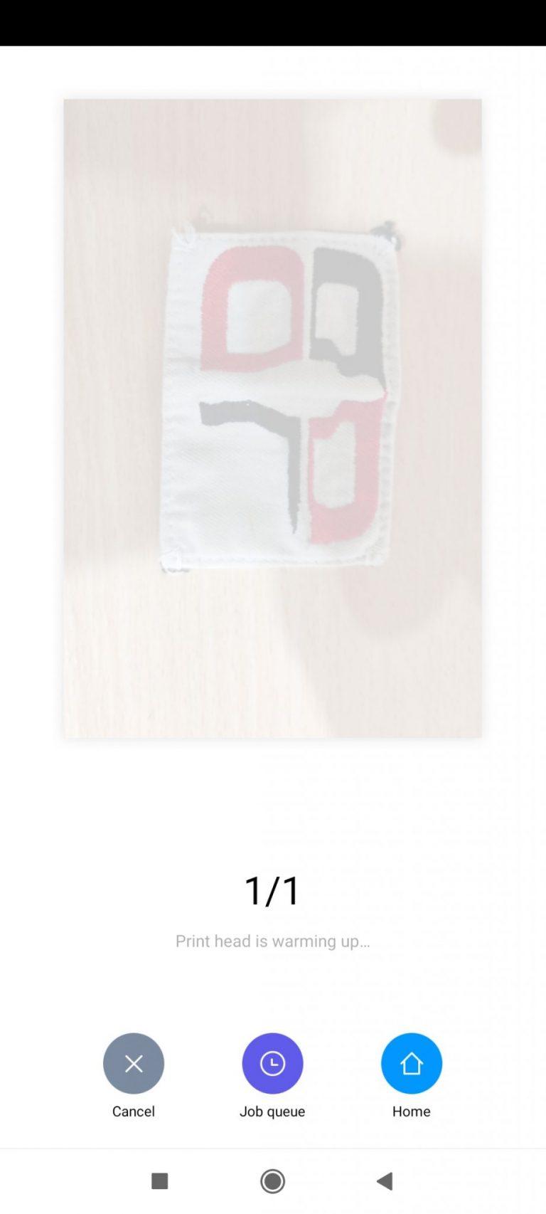 Xiaomi Zink hordozható fotónyomtató 16