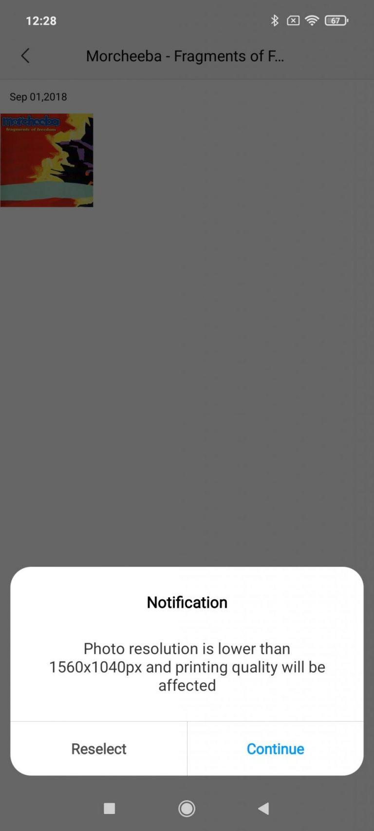 Xiaomi Zink hordozható fotónyomtató 21