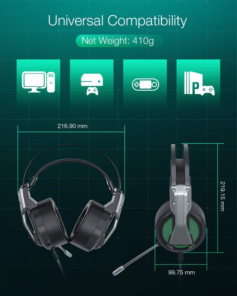 Gamer headset akció a Banggoodon 4