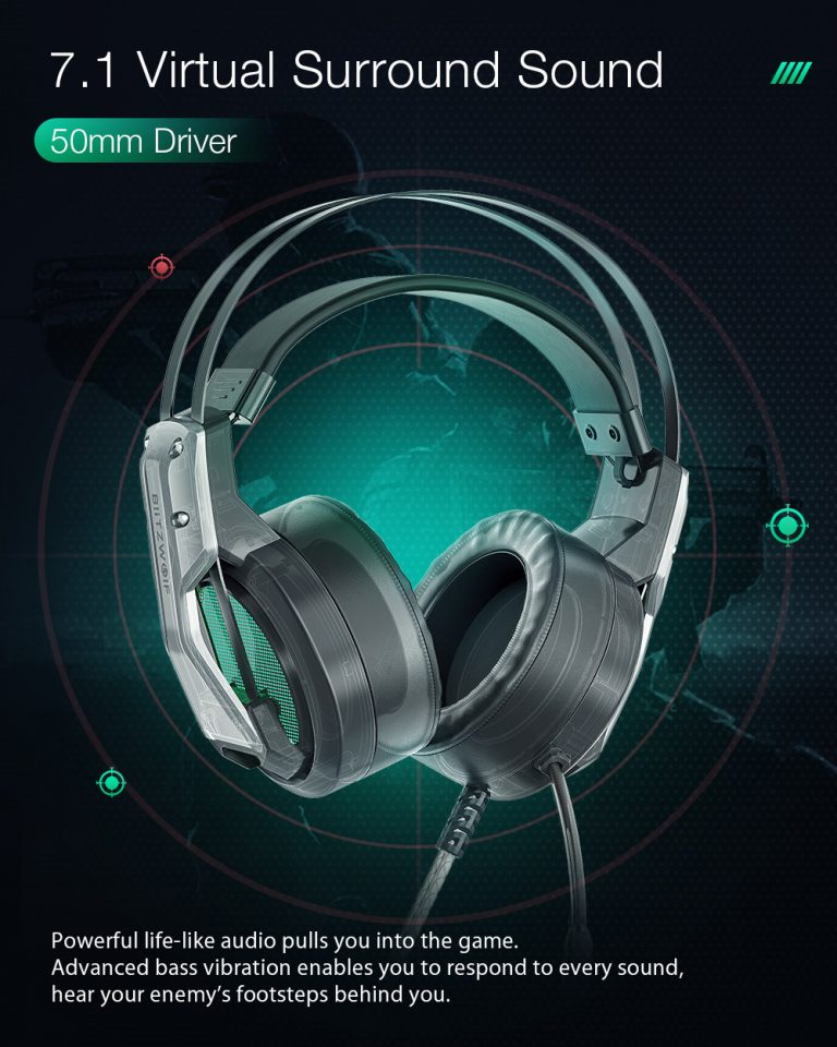 Gamer headset akció a Banggoodon 3