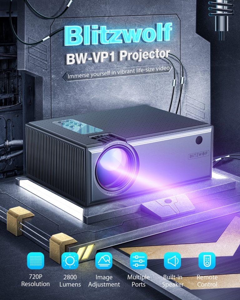 Projektor otthonra, olcsón – BliztzWolf BW-VP1 2