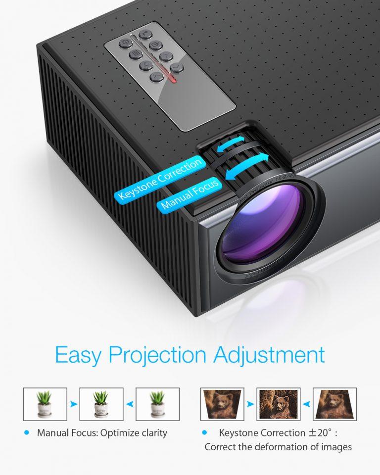Projektor otthonra, olcsón – BliztzWolf BW-VP1 3
