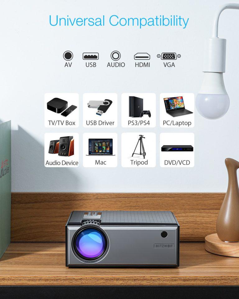 Projektor otthonra, olcsón – BliztzWolf BW-VP1 9