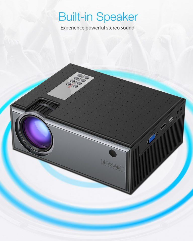 Projektor otthonra, olcsón – BliztzWolf BW-VP1 8
