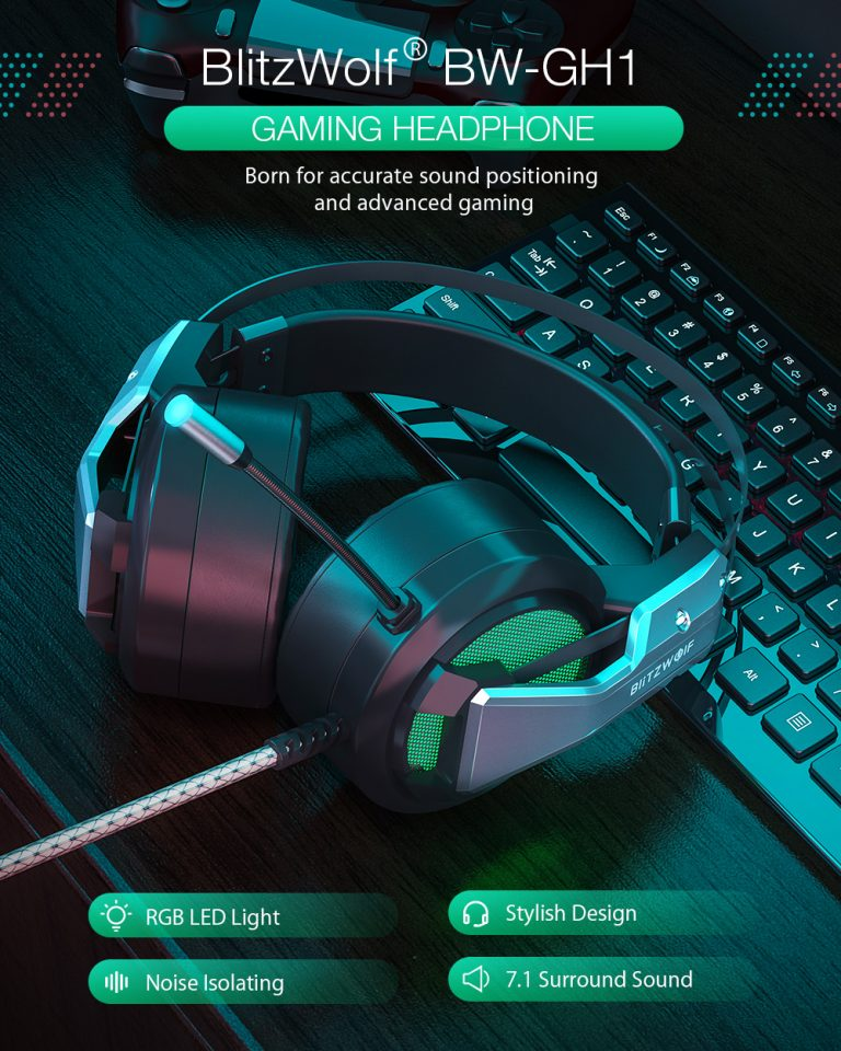 Gamer headset akció a Banggoodon 2