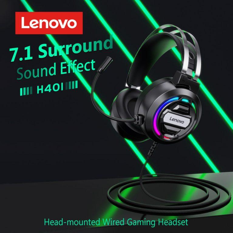 Olcsó gamer fejhallgató a Lenovotól 3
