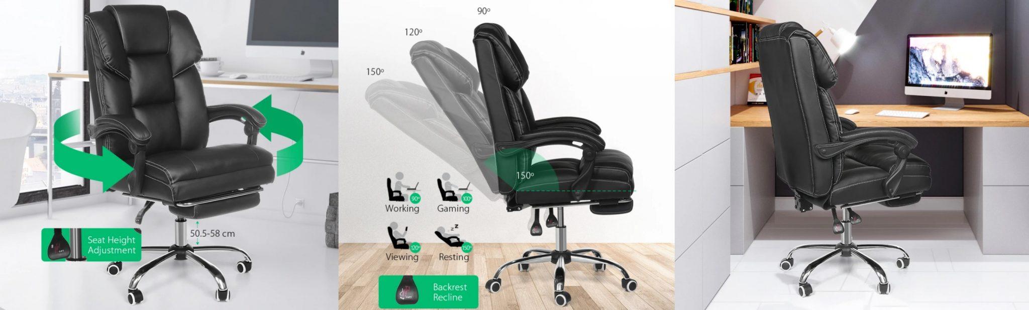 BlitzWolf BW-OC1 irodai szék teszt 15