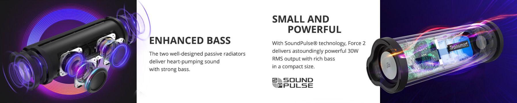 Tronsmart Element Force 2 BT hangszóró teszt 14