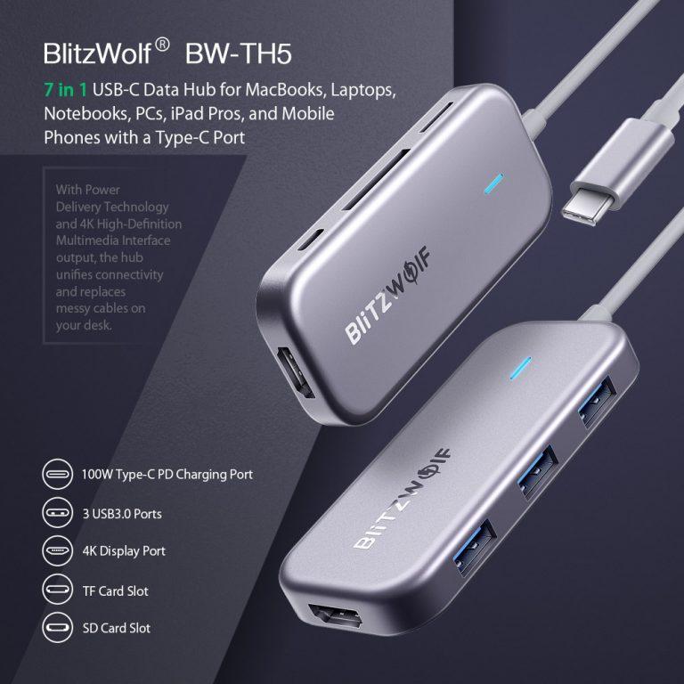 Olcsó USB hub a BlitzWolftól 2