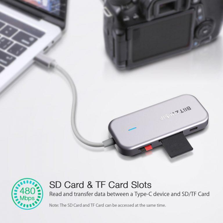 Olcsó USB hub a BlitzWolftól 6