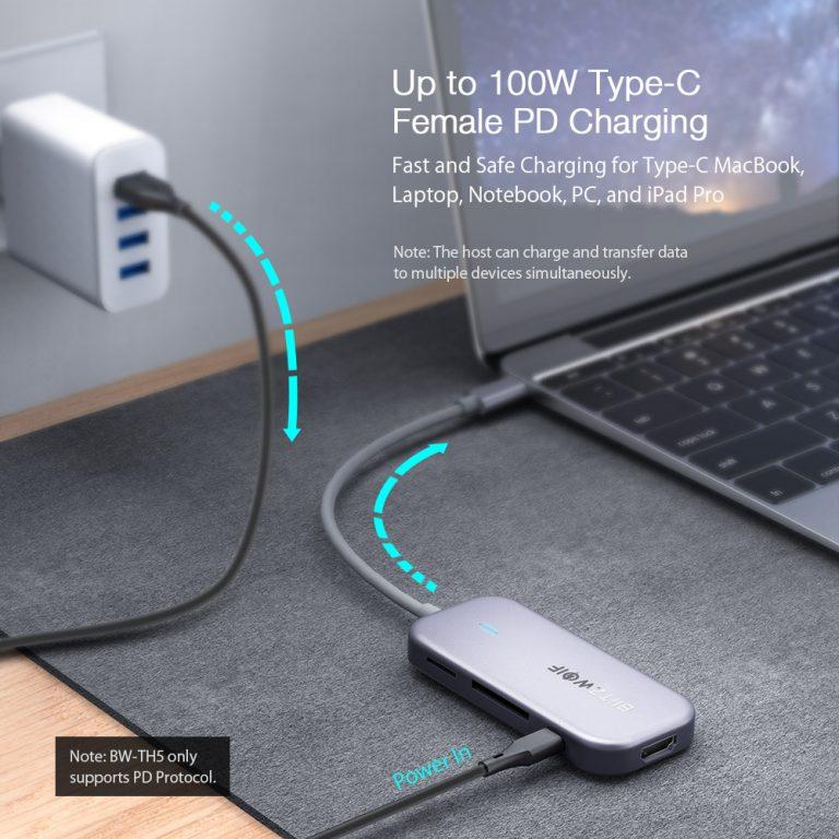 Olcsó USB hub a BlitzWolftól 5