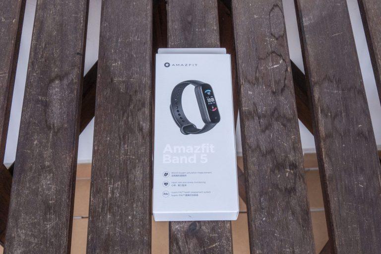 Xiaomi Amazfit Band 5 aktivitásmérő teszt 2