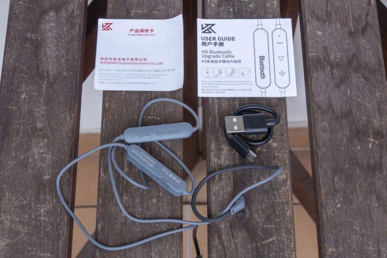 KZ aptX HD Bluetooth adapter teszt 9