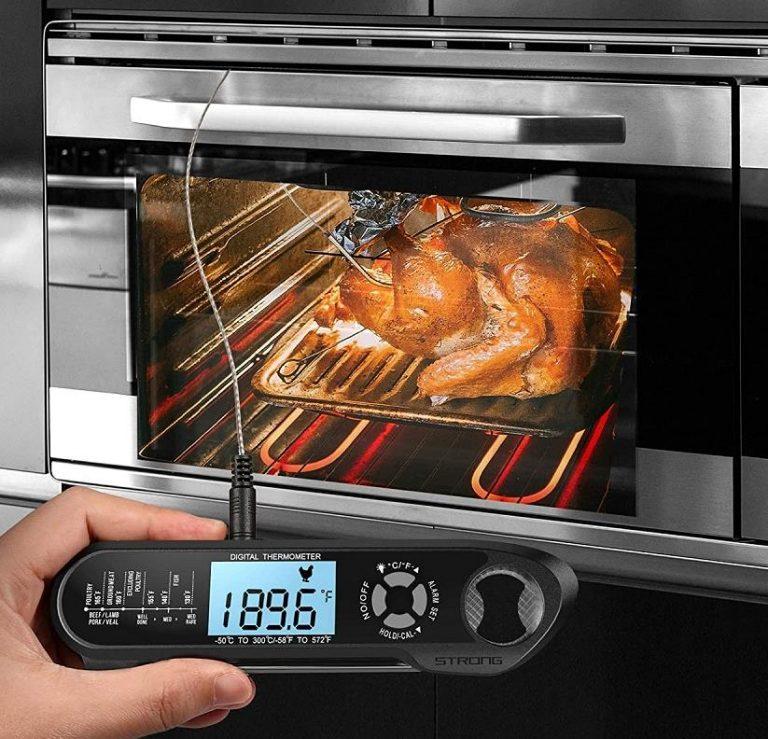 Vezetékes ételhőmérő, hogy sose rontsuk el a steaket 2