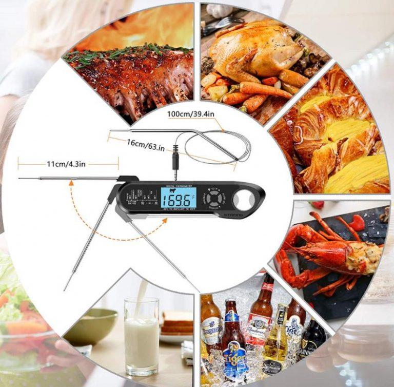 Vezetékes ételhőmérő, hogy sose rontsuk el a steaket 3