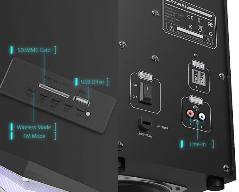 Megjelent a BlitzWolf 2.1-es gamer hangrendszere 5