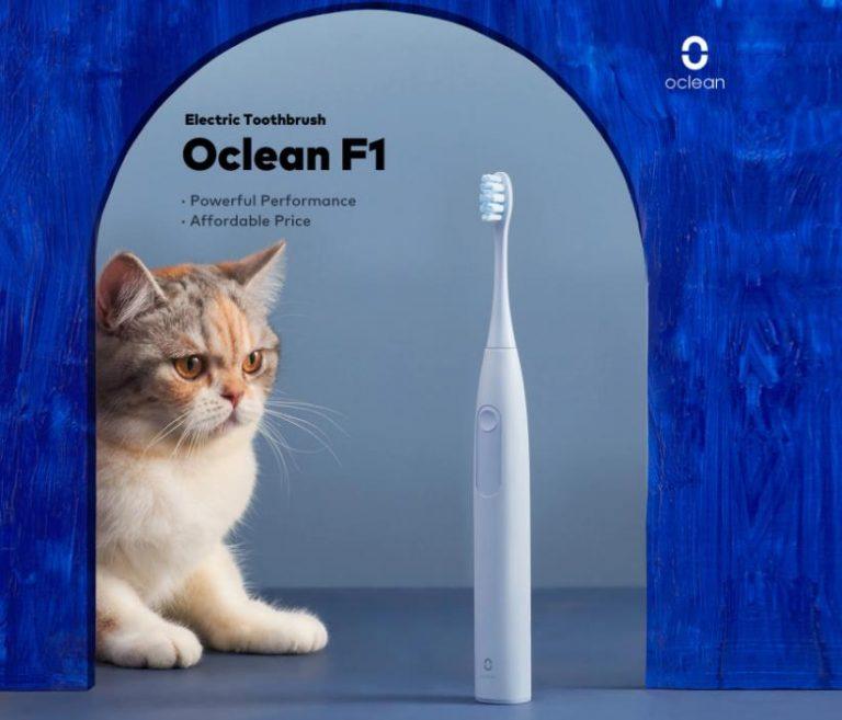 Oclean F1 szónikus fogkefeakció: annyi, mint a legolcsóbb Oral-B 9