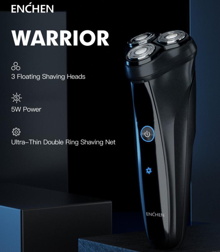 Megérkezett az Enchen Warrior elektromos borotva 2