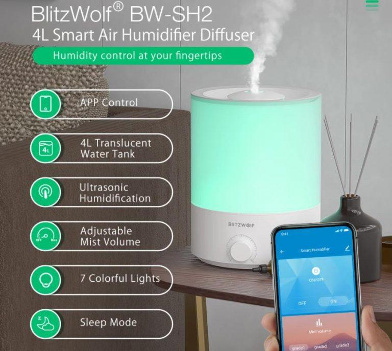 BlitzWolf okospárásító jutányos áron 2