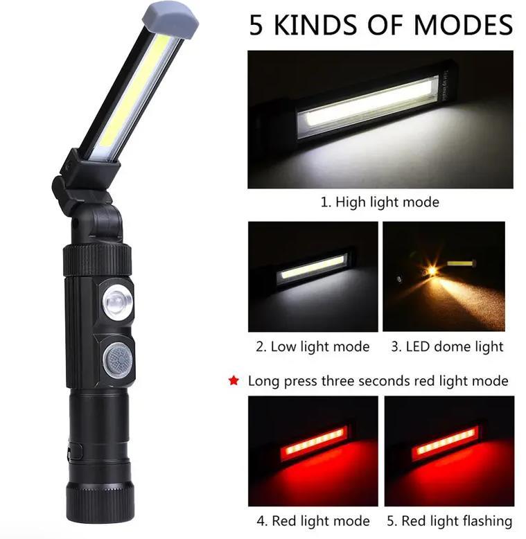 Xanes COB LED munkalámpa remek áron 4