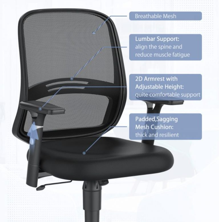 A BlitzWolf megint előállt két újabb irodai székkel 4