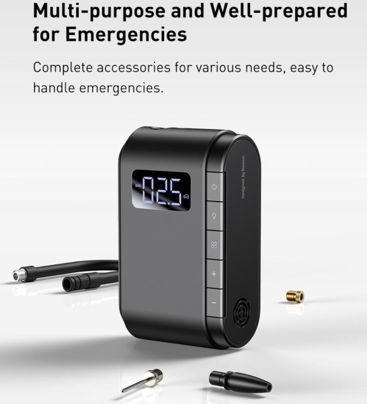 Szuper olcsó Baseus elektromos pumpa kapható a Banggoodon 8