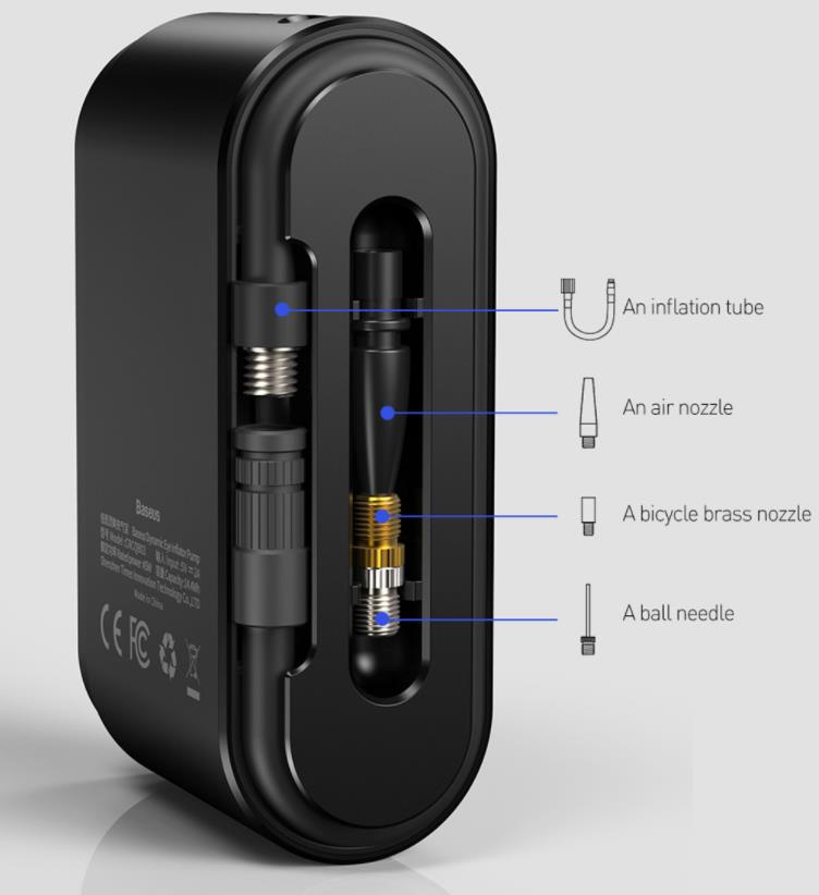 Szuper olcsó Baseus elektromos pumpa kapható a Banggoodon 7