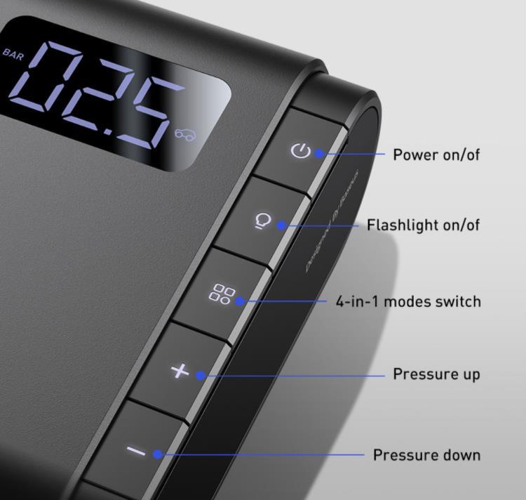 Szuper olcsó Baseus elektromos pumpa kapható a Banggoodon 6