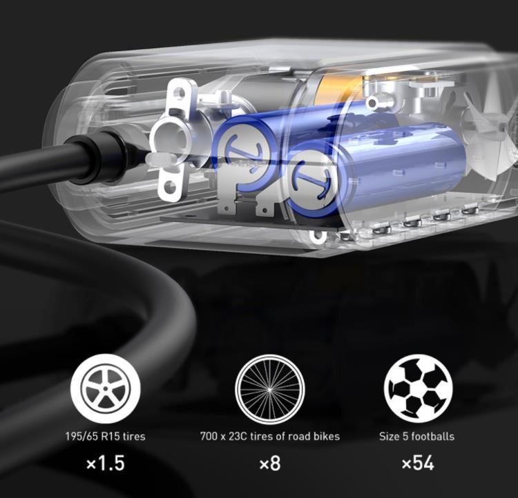 Szuper olcsó Baseus elektromos pumpa kapható a Banggoodon 5