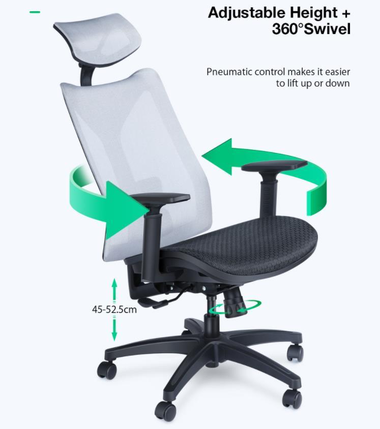 A BlitzWolf megint előállt két újabb irodai székkel 10