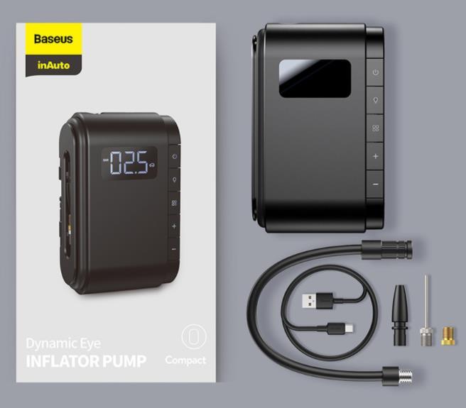 Szuper olcsó Baseus elektromos pumpa kapható a Banggoodon 10