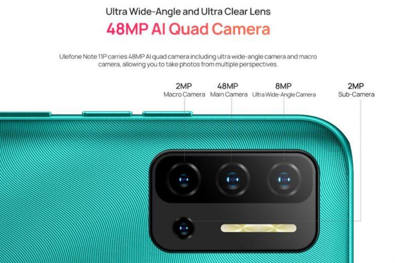 Ulefone Note 11P: 8 GB RAM 42 000 forintért 7