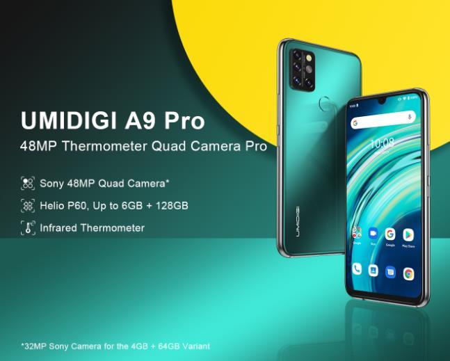 Nagyot akar villantani az Umidigi az A9 Pro telefonnal 2