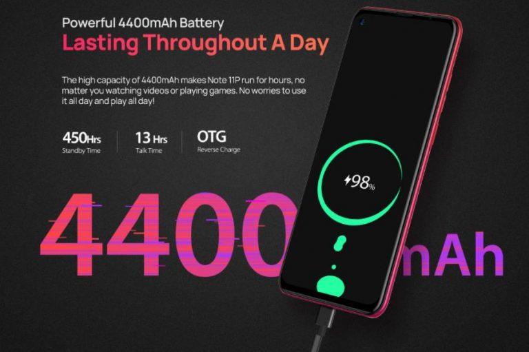 Ulefone Note 11P: 8 GB RAM 42 000 forintért 4