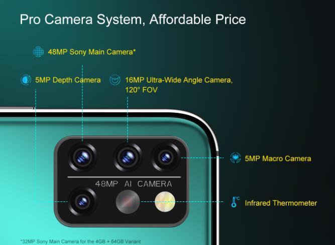 Nagyot akar villantani az Umidigi az A9 Pro telefonnal 5
