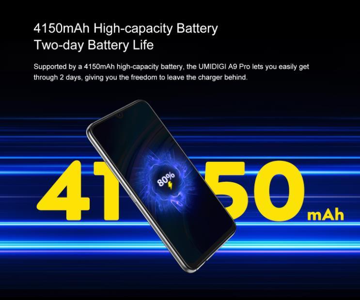 Nagyot akar villantani az Umidigi az A9 Pro telefonnal 9