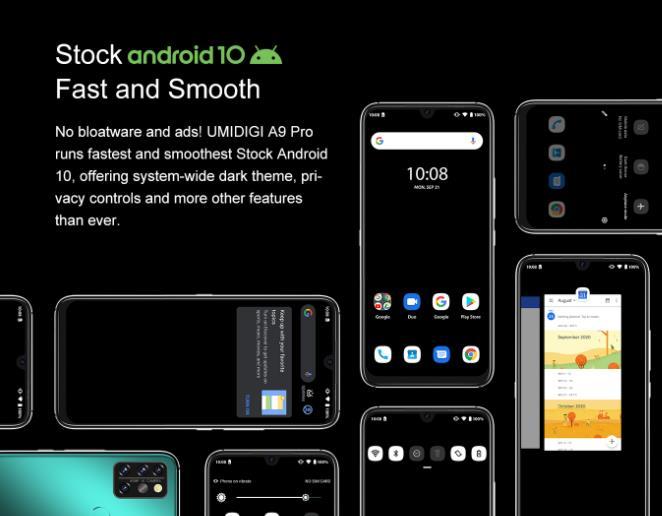 Nagyot akar villantani az Umidigi az A9 Pro telefonnal 8