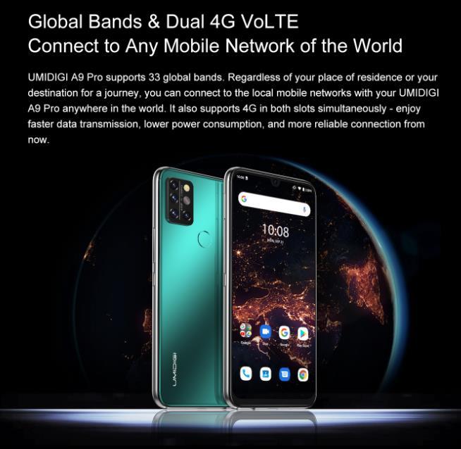 Nagyot akar villantani az Umidigi az A9 Pro telefonnal 7