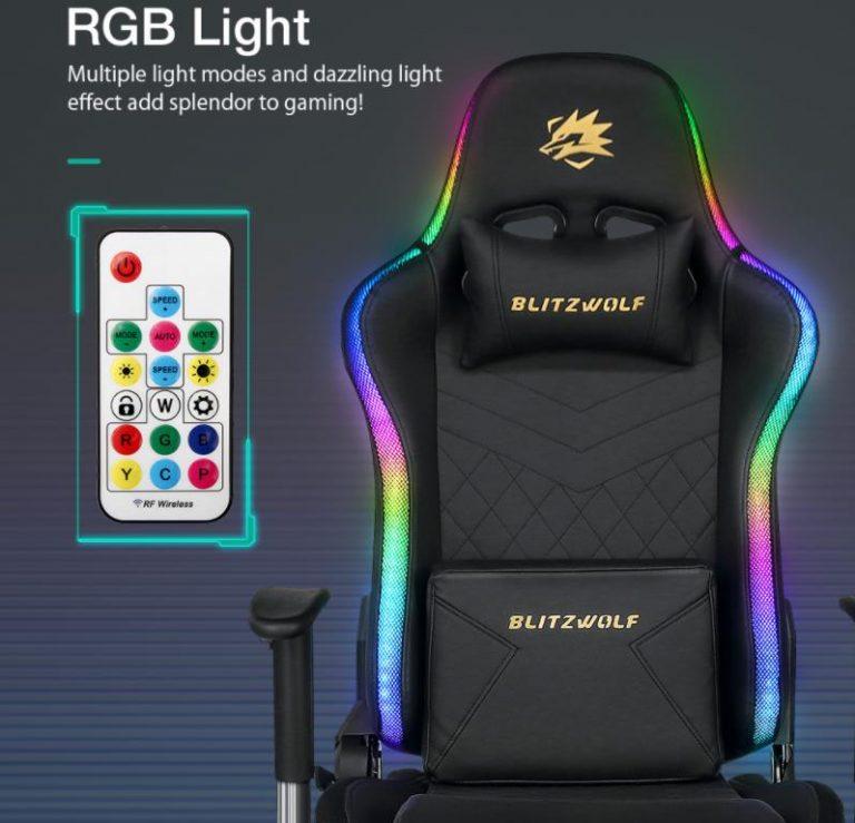 Már előrendelhető a BlitzWolf BW-GC8 és GC9 gamer szék 3
