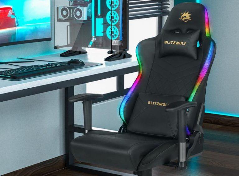 Már előrendelhető a BlitzWolf BW-GC8 és GC9 gamer szék 4