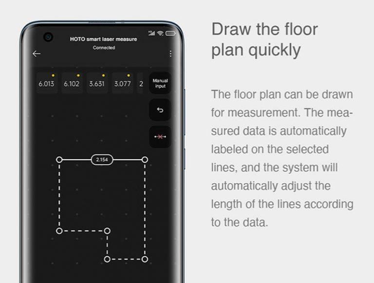 A Xiaomi HOTO lézeres távolságmérővel elképesztő dolgokat lehet mérni 6