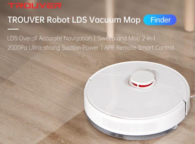 A Xiaomi önmagát koppintja a Trouver Finder robotporszívóval 2
