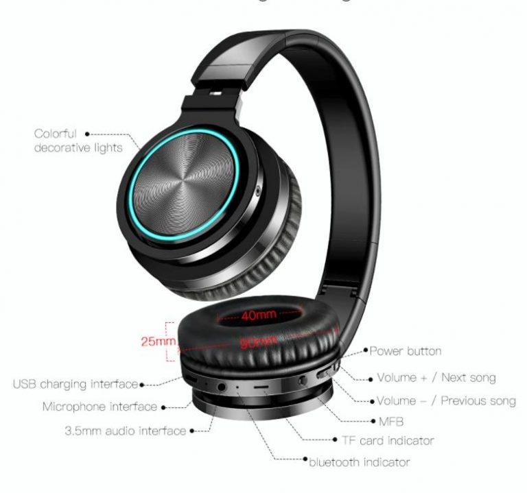 Újra van filléres Airaux Bluetooth fejhallgató 8