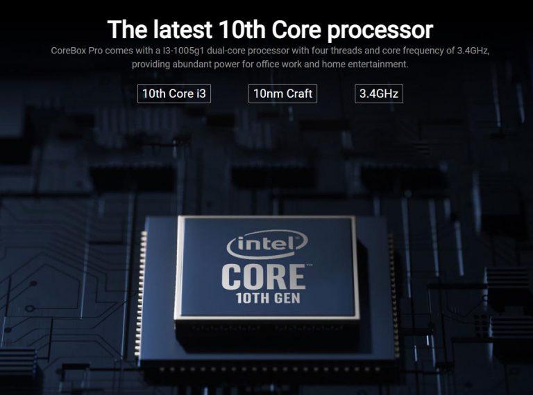 Überelhetetlen áron vihető a Chuwi CoreBox Pro mini PC 5