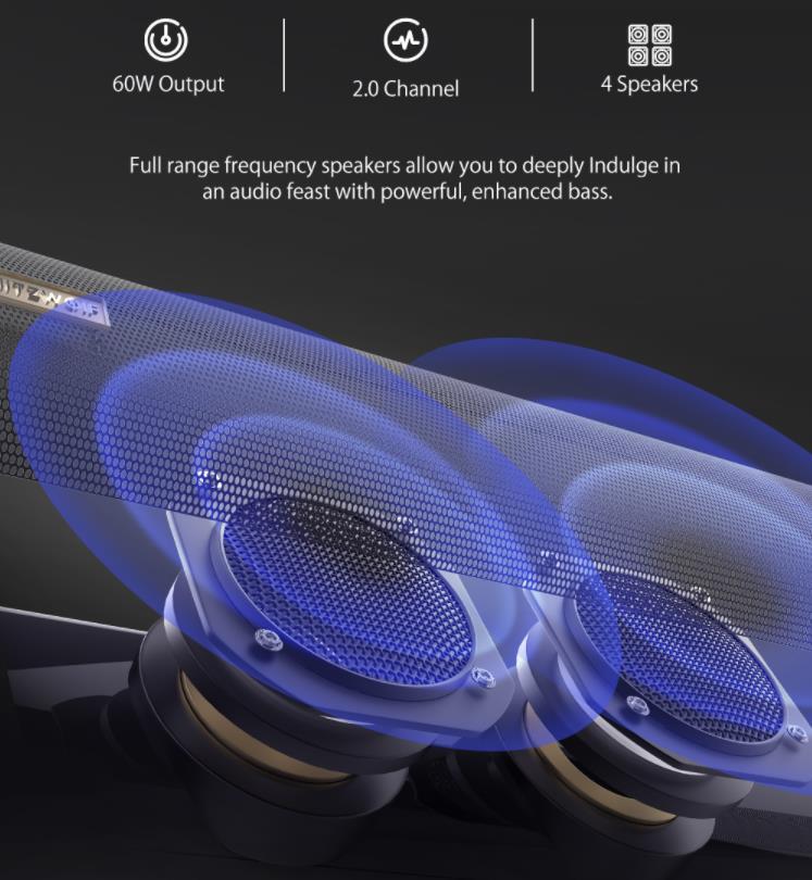 Brutálisan jó ajánlat a BlitzWolf BW-SDB1 Pro soundbarra 6