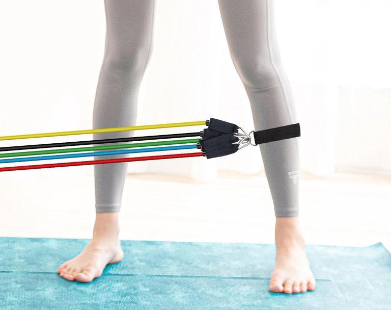 Az otthoni edzés elengedhetetlen terméke: gumikötélszett 9