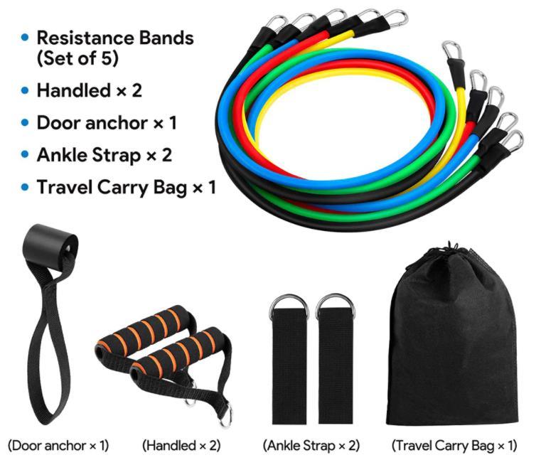Az otthoni edzés elengedhetetlen terméke: gumikötélszett 6
